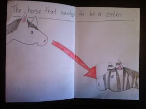 Zebra Horse2